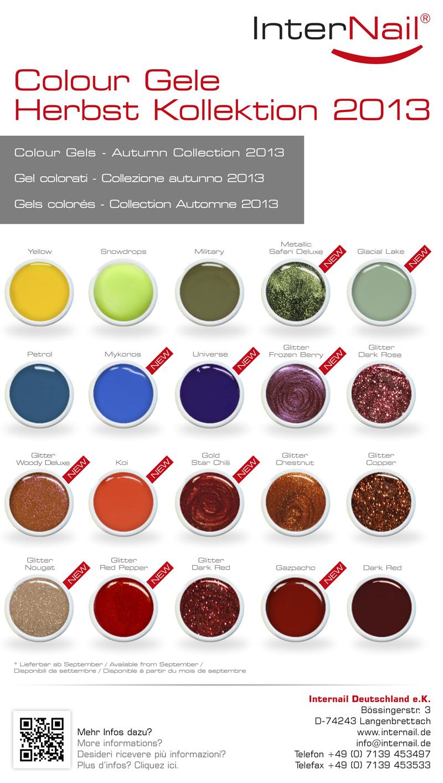 Colour Gele | Herbst Kollektion 2013